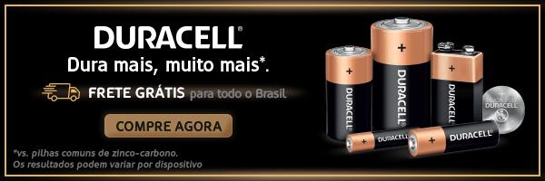 Pilhas Duracell com Frete Grátis para todo o Brasil