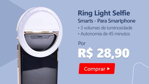 Ring Light Selfie para Smartphone - Smarts