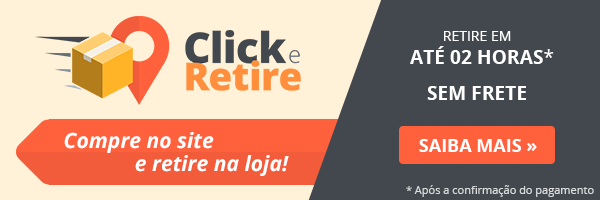 Click e Retire: compre no site e retire na loja!