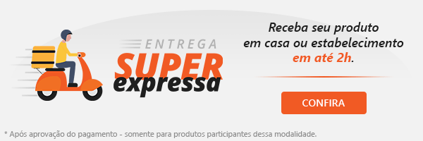 Entrega Super Expressa: receba seu produto em casa ou estabelecimento em até 2 horas