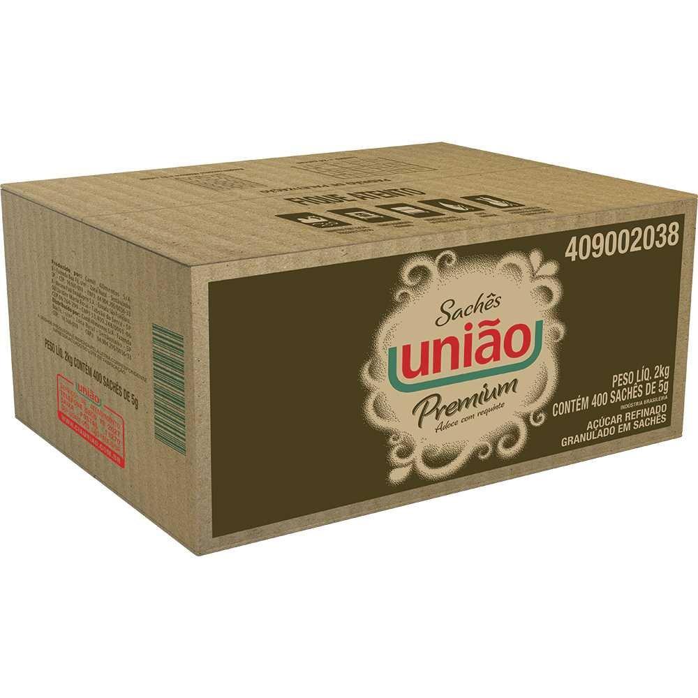 Acucar Refinado Granulado Em Sache 5gr Uniao Coffee Break