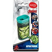 Apontador c / deposito Avengers 22270 Molin