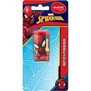Apontador c/deposito Spiderman 15180 Molin BT 1 UN