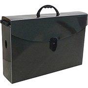 Arquivo maleta slim pp fumê c 6 pastas suspensas kraft Dello PT 1 UN a3efde08f8