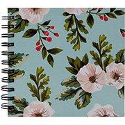 Caderneta de apontamento s/pauta 15,5x16 Floral 70fls Abyara (035065)