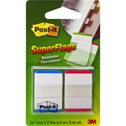 Marcador de p�gina adesivo Post-it super flags pq.verm/az 3M BT 22 UN