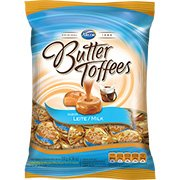 Bala Butter Toffees leite 130g Arcor PT 1 PT