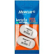 Borracha oval branca Mercur BT 2 UN