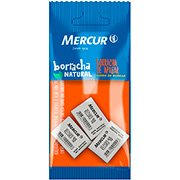 Borracha branca escolar record 40 pull pack B1010301008 Mercur BT 3 UN