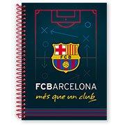 Caderno Universitário Capa Dura 1x1 96 fls Barcelona 08152 Spiral Bc
