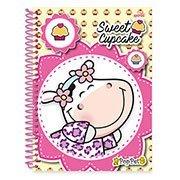 Caderno univ.capa dura 1x1 96 fls Pop Pet 19124 Spiral Pop (130636)