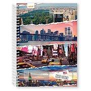 Caderno Universitário Capa Dura 15x1 300fls Hard Cover 03508 Spiral