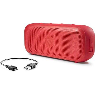 Caixa de Som Hp Vermelho S400