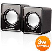 Caixa de som 3w rms mini SP144 Multilaser CX 1 UN