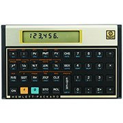 Calculadora financeira 12c gold HP