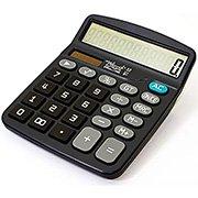 Calculadora de mesa (bat/solar/12 digitos) 1200 Spiral Digit (159008)