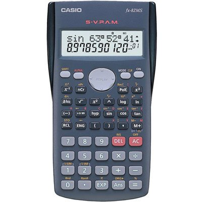 ebde5029e5b Calculadora científica cinza FX-82MS Casio - Suprimentos para ...