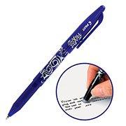 Caneta Escreve e Apaga Frixion 0,7mm Esferográfica Azul Pilot