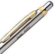 Caneta esferogr�fica retr�til sterling dourada B460G-CGF Pentel