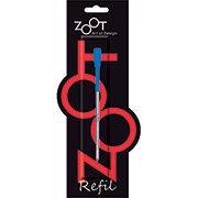 Carga p/ caneta esferográfica p/ poá ZR10031A Zoot (194868)