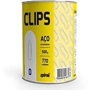 Clips nr.0 galvanizado (lata c/500g) Spiral