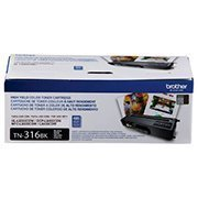 Cartucho toner p/Brother preto TN316BK Brother CX 1 UN