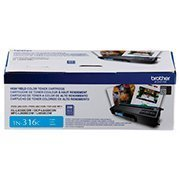 Cartucho toner p/Brother ciano TN316C Brother CX 1 UN