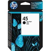 Cartucho HP 45 preto Original (51645AL) Para HP 815c, 830c, 955c CX 1 UN