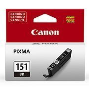 Cartucho 7ml preto CLI151BK Elgin CX 1 UN