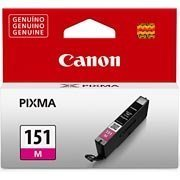 Cartucho 7ml magenta CLI151M Elgin CX 1 UN