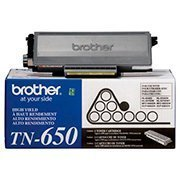 Cartucho toner p/Brother preto p/8000 pág. TN650BR Brother CX 1 UN
