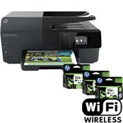 Multifuncional Officejet Pro 6830 + 3 Cartuchos 934XL Preto - HP CX 1 UN