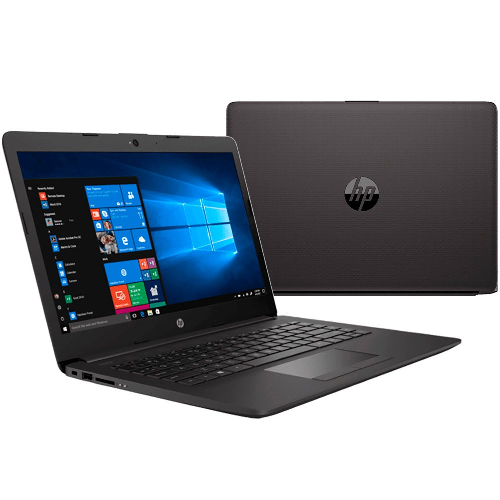 "Notebook - Hp 6yh27la I5-8250u 1.60ghz 8gb 500gb Padrão Intel Hd Graphics 620 Windows 10 Professional 240 G7 14"" Polegadas"