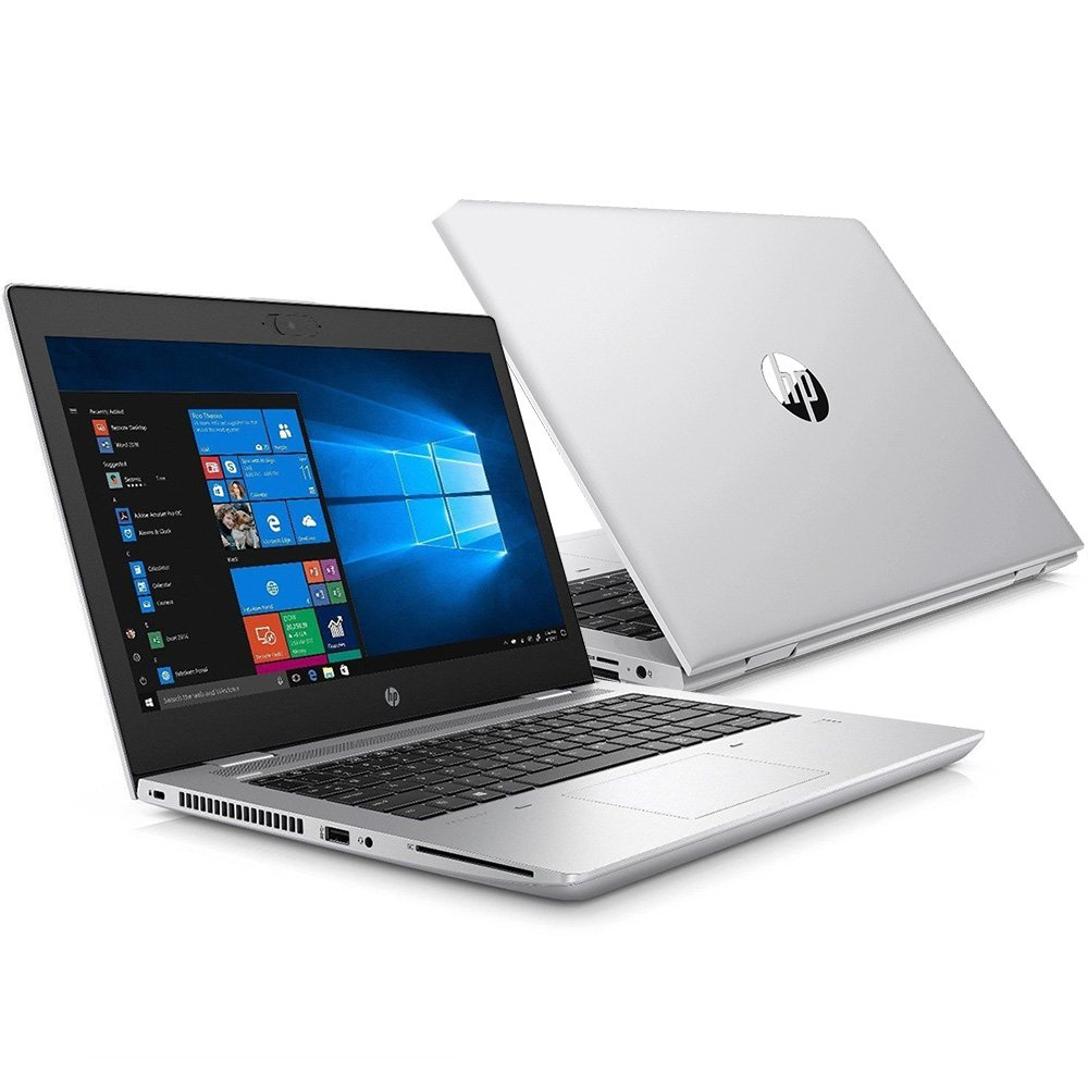 "Notebook - Hp 6xf66la I5-8250u 1.60ghz 8gb 256gb Ssd Intel Hd Graphics 620 Windows 10 Professional Probook 640 G4 14"" Polegadas"