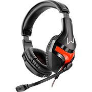 Headset Gamer red PH101 Multilaser CX 1 UN