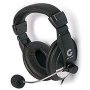 Headset preto 1747 Leadership CX 1 UN