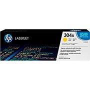 Toner HP 304A Amarelo Laserjet Original (CC532A) Para HP Laserjet CP2025dn, CM2320n, CM2320nf CX 1 UN
