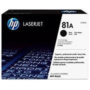 Toner HP 81A Preto Laserjet Original (CF281A) Para HP Laserjet Enterprise M605dn, M606x, M630h, M605n CX 1 UN