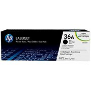 Toner HP 36A Preto Dual Pack Laserjet Original (CB436AE) Para HP Laserjet M1522nf, M1120 CX 1 UN