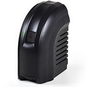 Estabilizador bivolt Powerest 300va 4t preto 9001 Ts Shara CX 1 UN