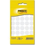 Etiqueta adesiva p/ codificação 16mm transparente TP16TR Pimaco (277751)