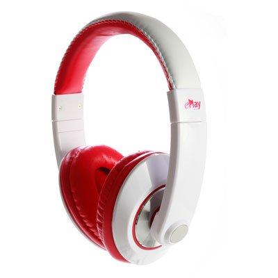 Fone de Ouvido Headphone Power Vermelho Eplay Ep420