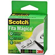 Fita Mágica Scotch® - 19 mm x 33 m BT 1 UN