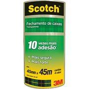 Fita adesiva pp 45mmx45m Scotch 5802 3M PT 4 UN