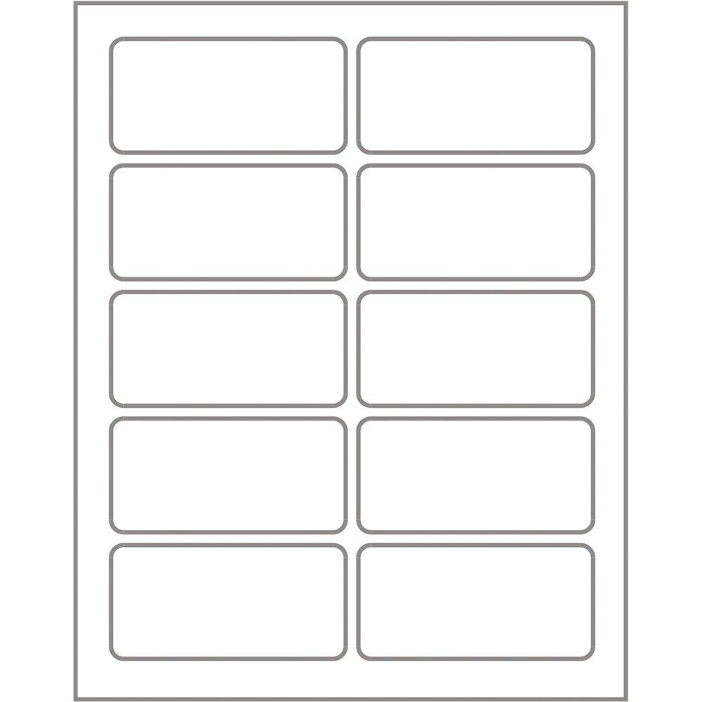 Etiqueta Adesiva Branca Multiuso 18x37mm Q 1837 Pimaco Envelopes