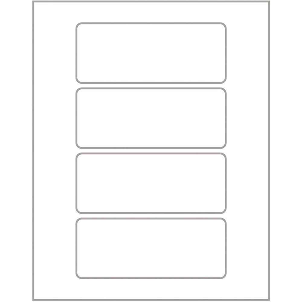 Etiqueta Adesiva Branca Multiuso 22x55mm Q 2050 Pimaco Envelopes