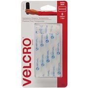 Fixador de contato autoadesivo tira 8,8x1,9cm tr 80021 Velcro (346686)