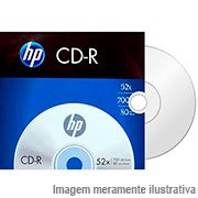 Cd-r gravável (80min/700mb)52x envelope Hp EN 1 UN