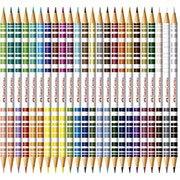 L�pis de Cor 48 cores redondo (24 bicolor)120624G  Faber Castell
