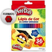 Lápis de Cor 36 cores redondo Play Doh 11.1736PD Play Doh (389761)
